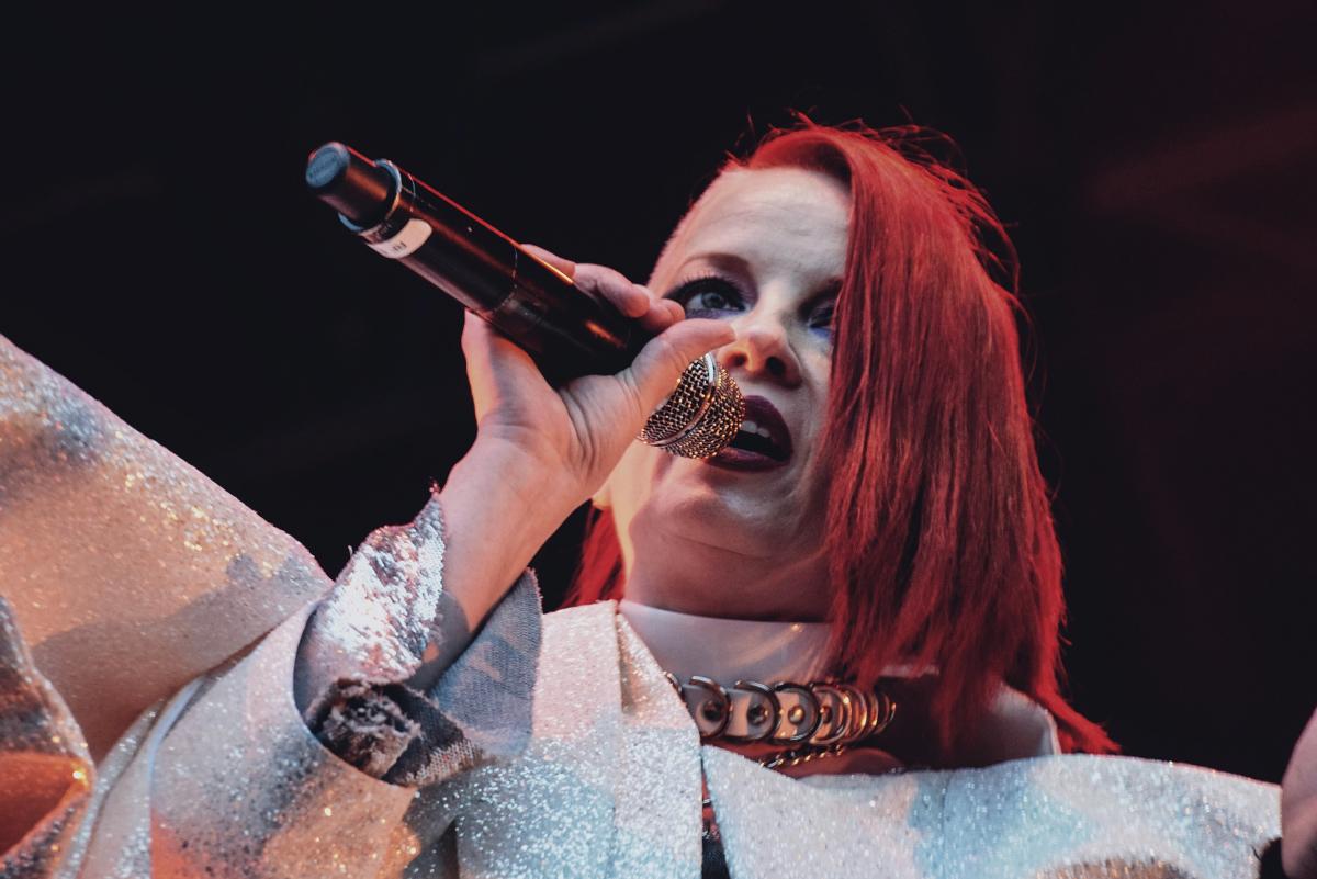'Shirley Manson live at Kew Gardens, London 2019